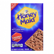 Honey Maid Cinnamon Graham Crackers,408g