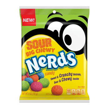 Nerds Chewy Sours Peg bag 170g