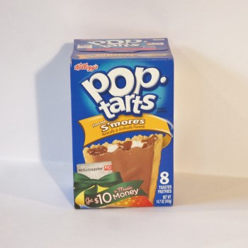smores marshmallow pop tarts American foods from Auntie Ammie's Candy Shop UK