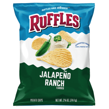 Ruffles Potato chips Jalapeno Ranch (184g