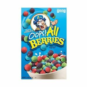 captain crunch opps all berries cereal