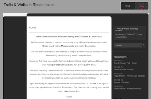 trails and walks in rhode island