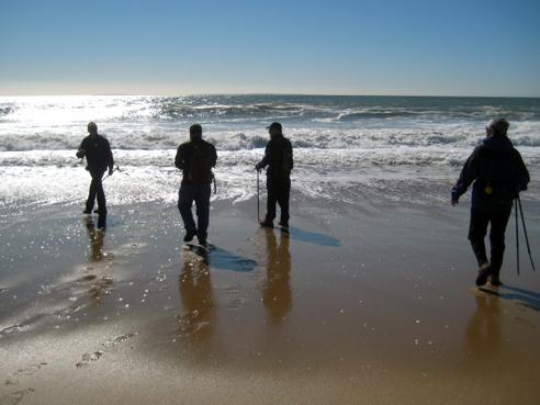 2013 N-S Trail Trek, Leg 1—Blue Shutters Beach, Charlestown