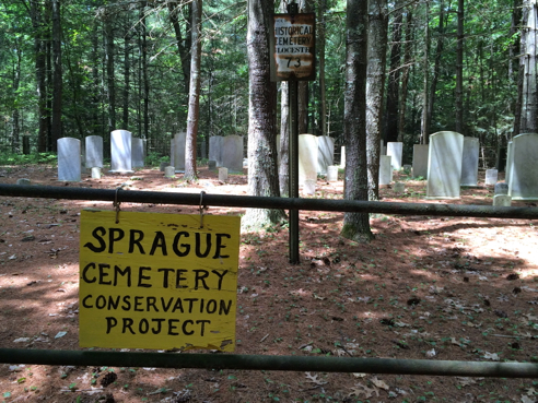 sprague family cemetery
