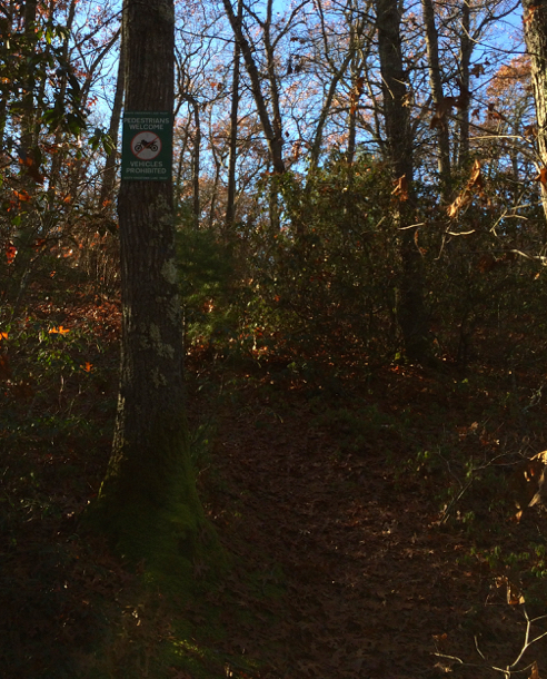 red house road trail head