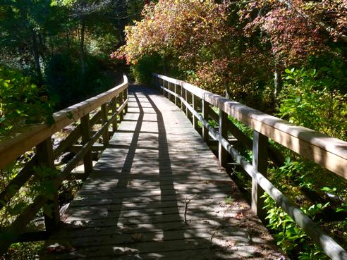 beautiful bridge over myron kinney brook
