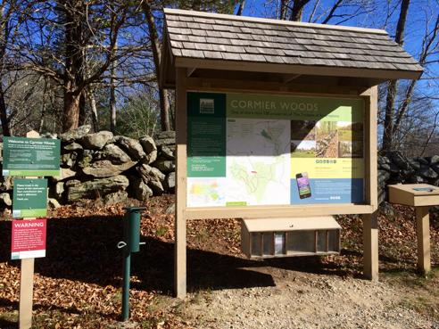 cormier woods kiosk