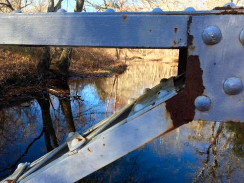 Iron Bridge over the Fenton River