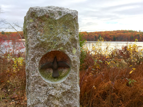 Granite Bird Marker