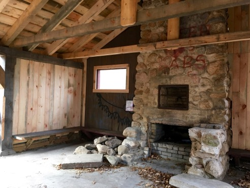 Newly-Restored Picnic Pavilion