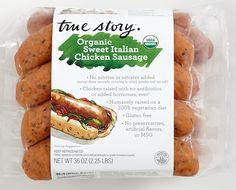 true story organic sweet Italian sausage