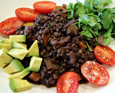 Black Lentil Chili