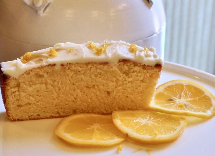 Meyer lemon loaf