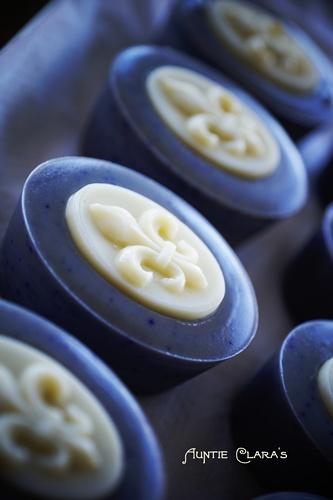 Fleur de Lys Handcrafted Soap by Auntie Clara's