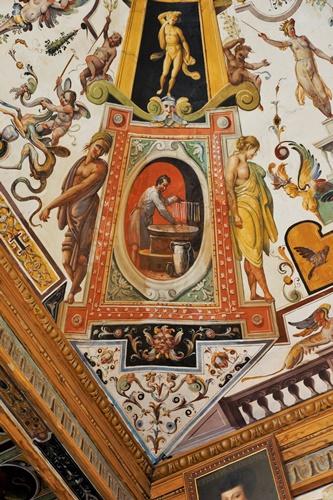Chandler at Uffizi Gallery