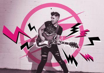 RR Graphic - Tour Campaign for LA based punk/rock band romance and rebellion.