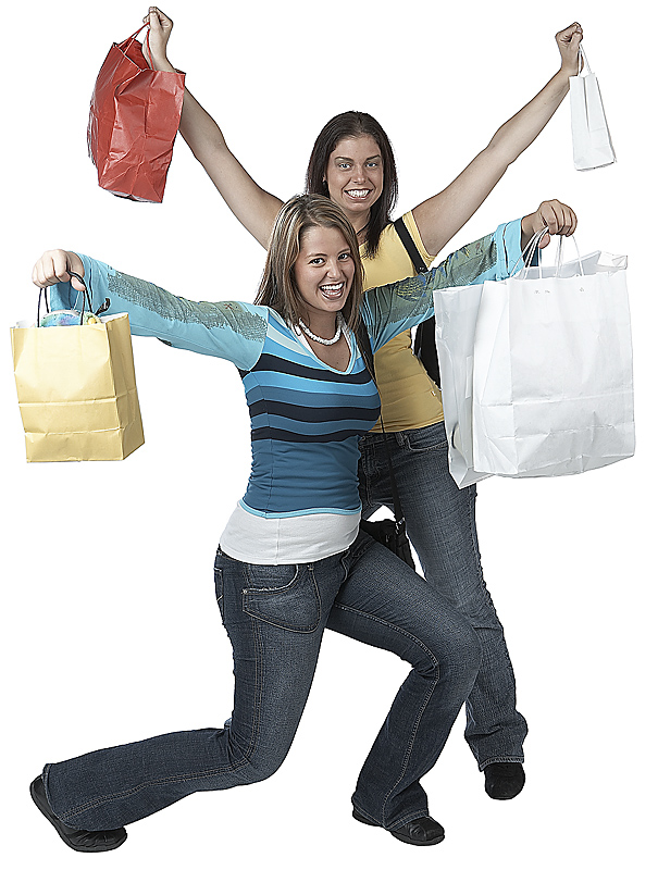 shopping makes resalers happy
