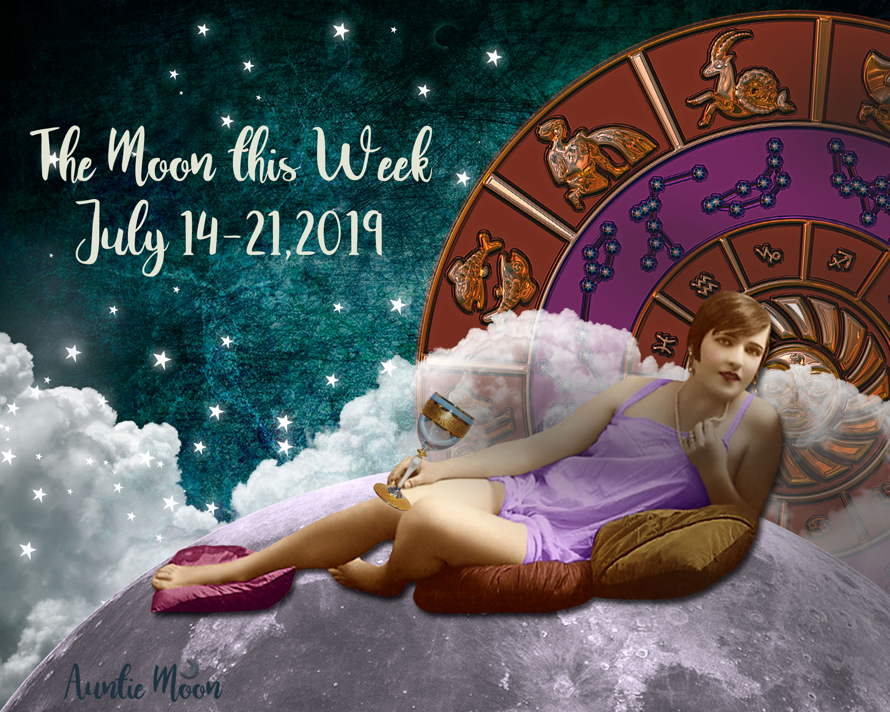 The Moon This Week July 14 21 Featuring A Full Moon