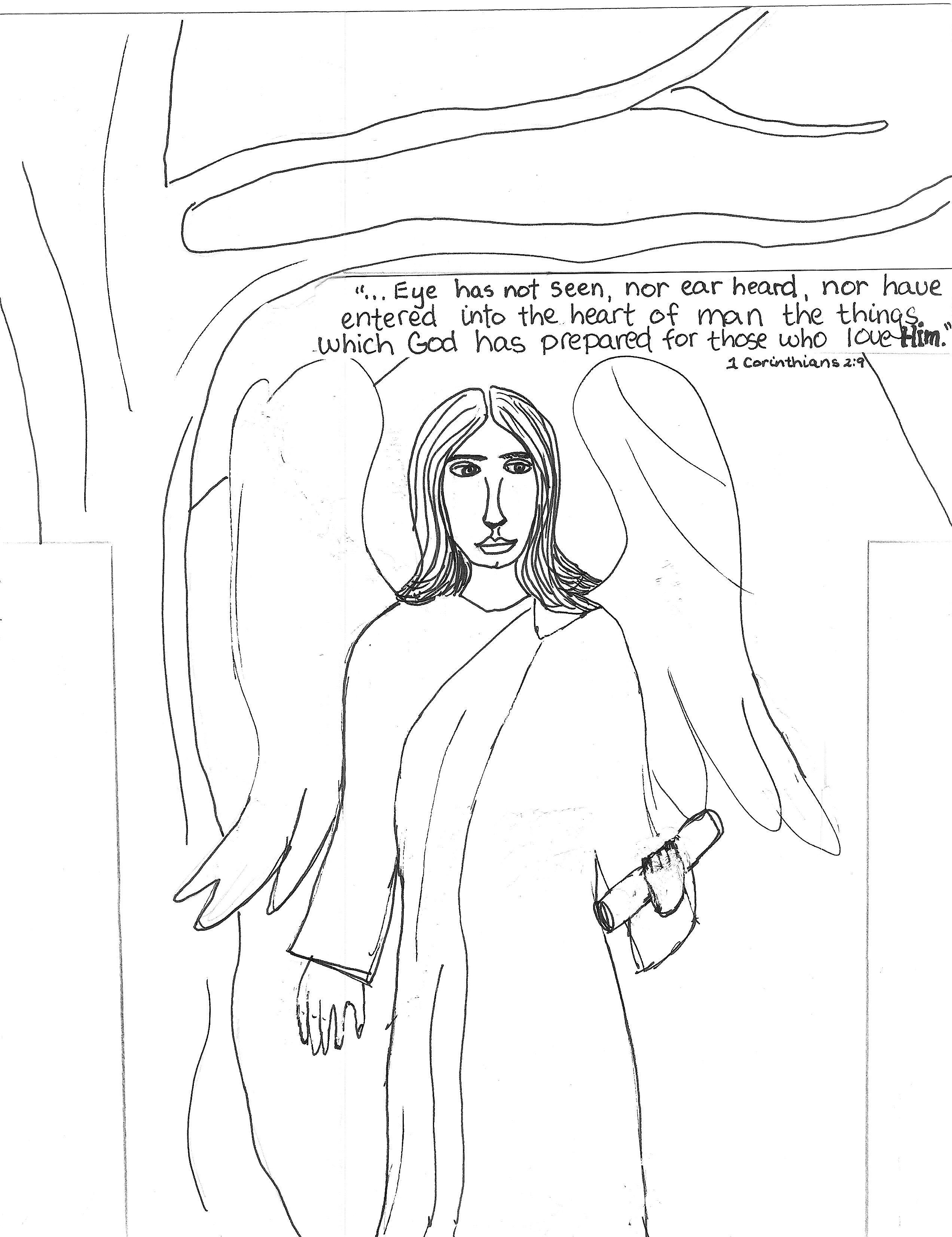 Angels Guarding Elisha Preschool Worksheet Angels Best