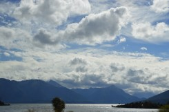 The sun came out as we returned to Queenstown.