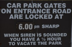 If I didn't see this sign and I heard the siren, I'd be a little more than freaked out!