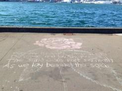 All little chalk art.