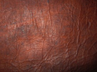 Photograph of my UK leather bag.