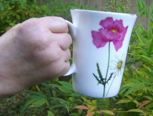 auntie stress china mug