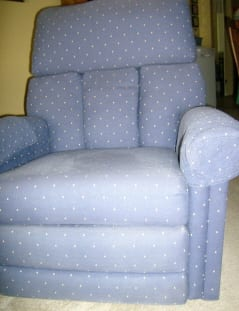 auntie stress arm chair