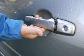 auntie stress car door