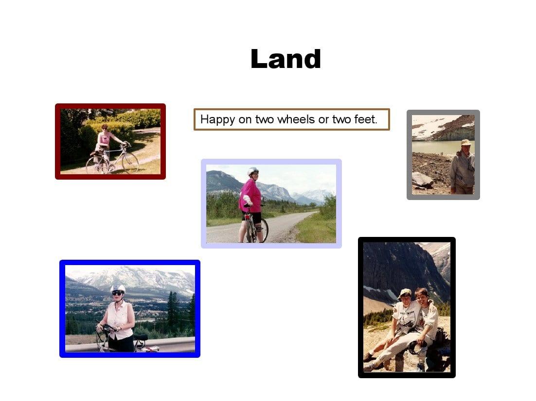 auntie stress land activities