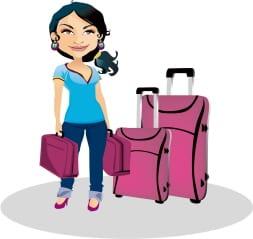 auntie stress luggage