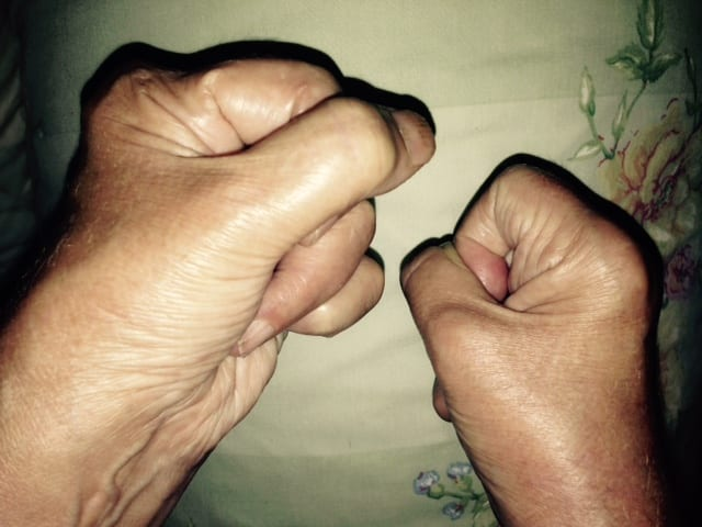 auntie stress fists