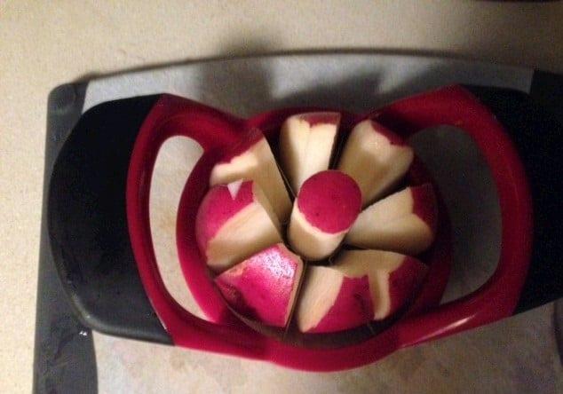 auntie stress apple corer