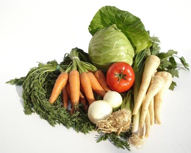 auntie stress vegetables