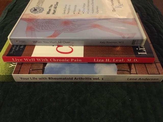 auntie stress rheumatoid arthritis books