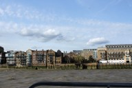 Riverfront in Limehouse.
