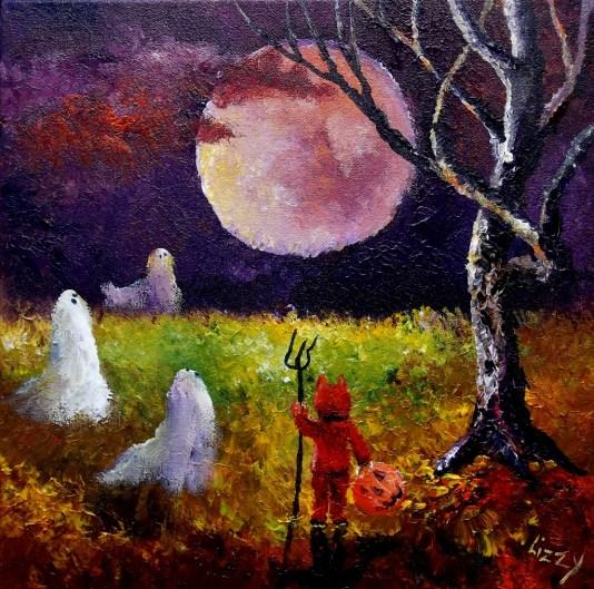 Enchanted Moon 12x12