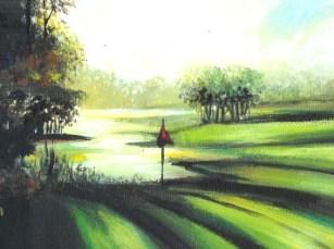 Golf Morning.