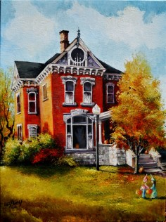 Historic home in Logansport, Indiana.