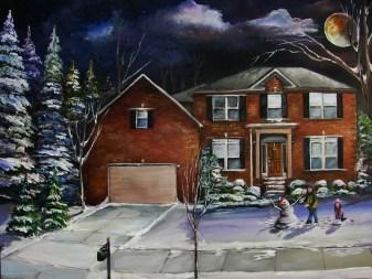 Labianca's Moonlit Winter