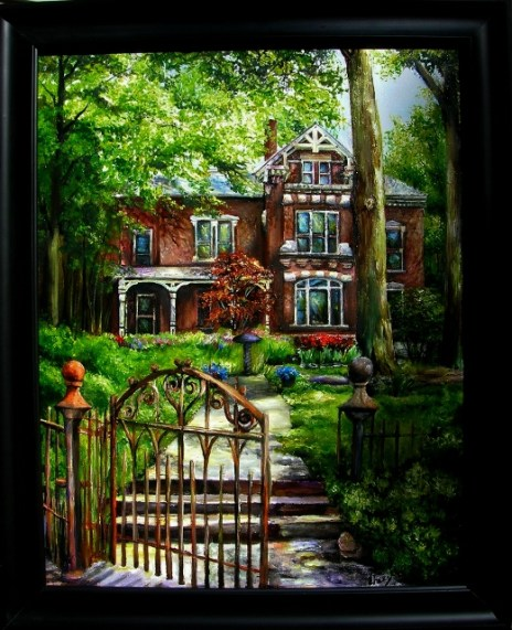 My Favorite Old House in Lafayette, Indiana