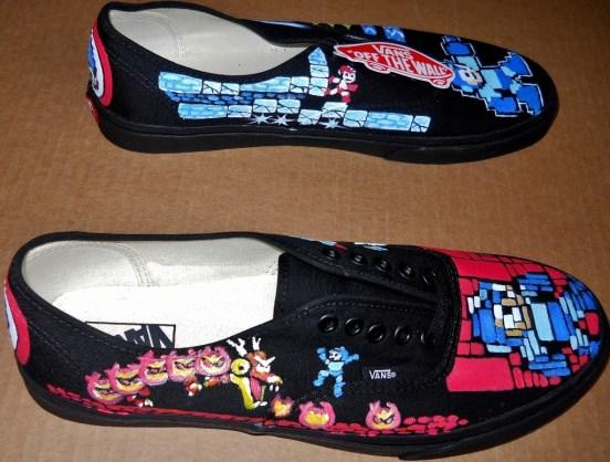 Mega Man Vans