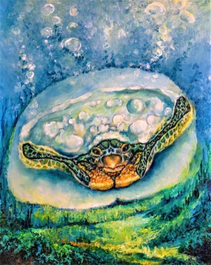 Sea Turtle CT pelvis by Andrew 2018 Lighter