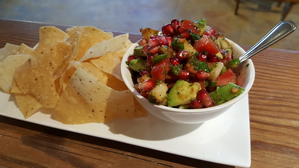 Pear & Pomegranate Salsa