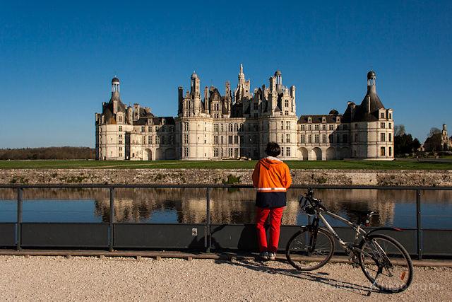 aupair-Francia-Valle-Loira-Chambord-Bicicleta-2