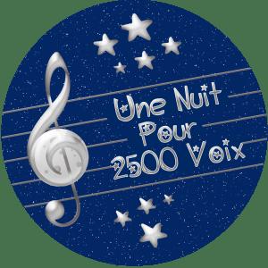 UNE NUIT POUR 2500 VOIX – CONCERT