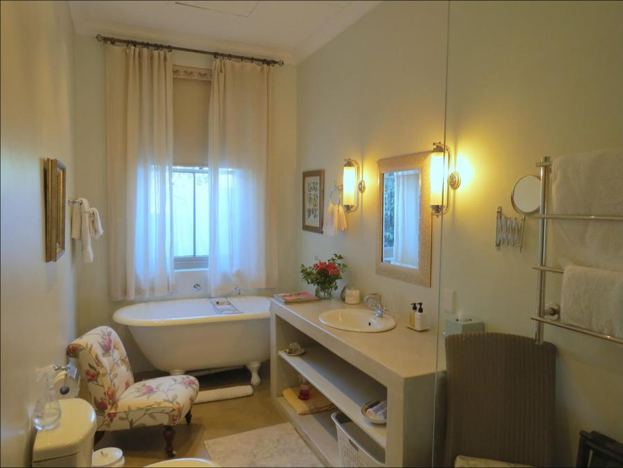 The Avocado Suite - our luxurious bathrooms all have Victorian baths and open showers
