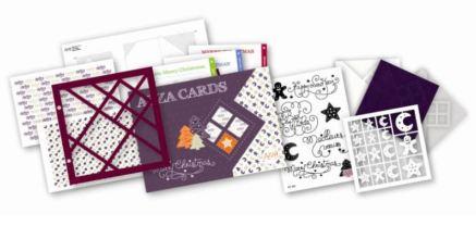 """le nouveau kit de cartes """"merry christmas"""""""