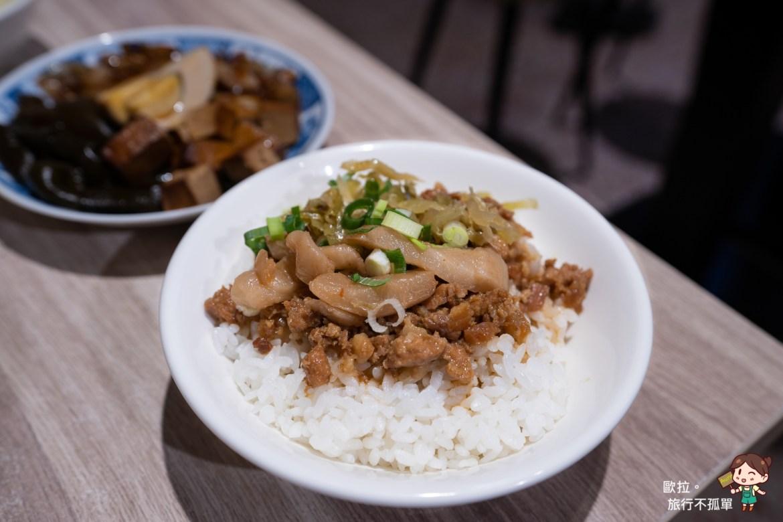 金門雨川食堂高粱酒滷肉飯